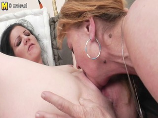 grandmother sharing her homosexual woman