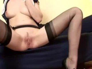 cougar stocking british homosexual woman vibrator