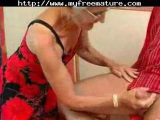 insatiable granny simply loves dick