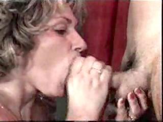 white cream on mature mouth