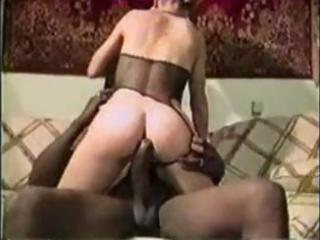 albino woman vintage interracial bang