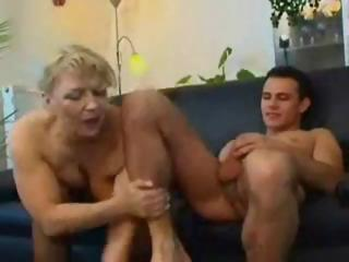 grown-up pale russian grown-up eats his cock and
