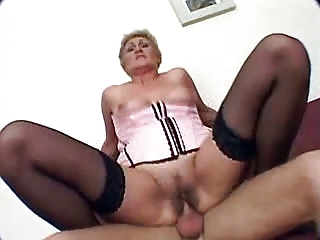 elderly acquires pierced and cumshots