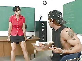 desperate mature coach banged after class