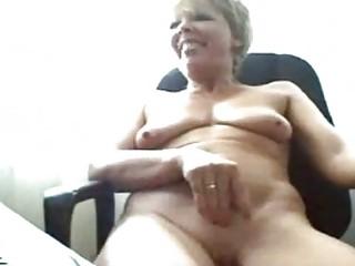 busty elderly on webcam