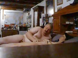 observe daddy pushing plastic cock my mom