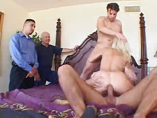 english bleached lady ganged on screw my maiden