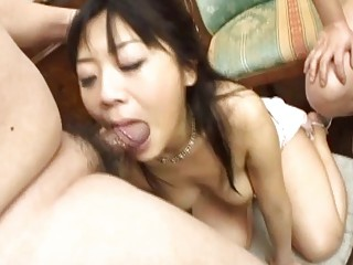 japanese woman gagged by two fat bellied libidos