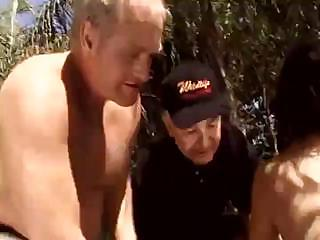 horny granny bastard catches sweet feminine in