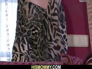 gf awakened by his desperate old mommy