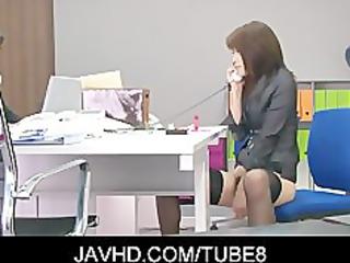 super japanese babe hojo maki masturbating her