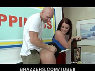 huge bottom boobs brunette takes arse bottom