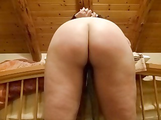 wifes ideal bottom receives some punishment
