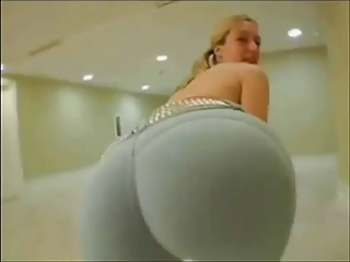 giant ass mature babe albino inside rough yoga