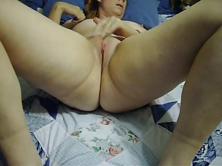 lonely wife prares for unmerciful masturbation