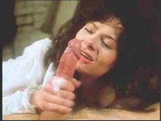 vintage retro older belle cock sucking with giant