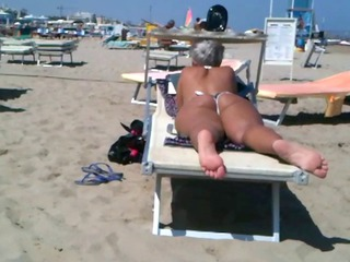 big anal lady on the seaside