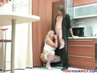 naughty busty mature angel tease teen