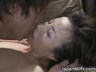 very slutty japanese mature whores licking