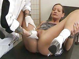 grownup fresh woman bottom bang with cum white