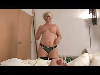 older bimbo ruling over a dick point of view
