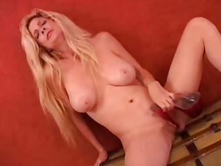 horny milf worships high shoes