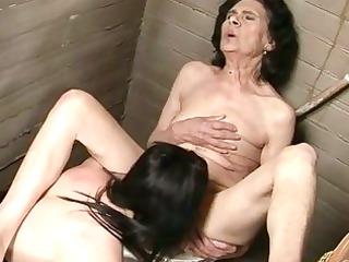 very granny elderly in homosexual slut porn