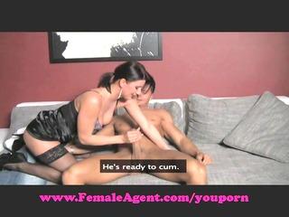 femaleagent. moist mouth cock sucking