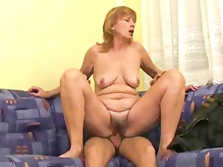 russian lady makes it with more amateur guy