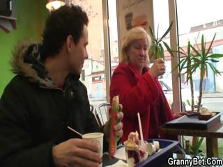 dick hungry grandma is pounded