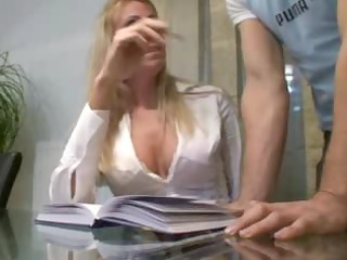 pure girl likes his horny secretary