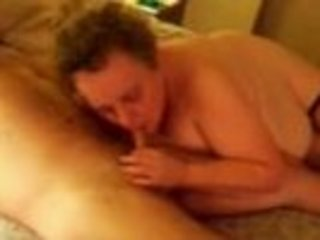 elderly blows her partner