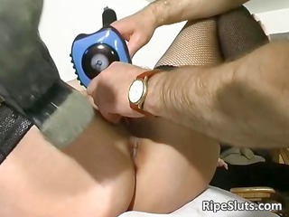 cougar redhead bitch takes her old prostitute