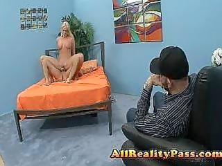 wifes meaty pussy banged by pornstar libido
