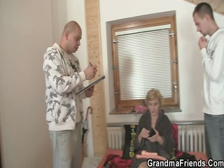 mature angel enjoys two inexperienced libidos