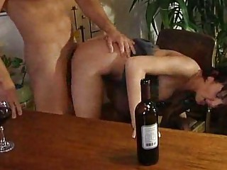 drunken cougar hoes sucking dick