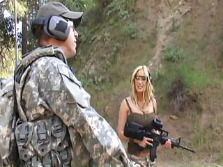 hot mature bitch gives this soldier some awesome