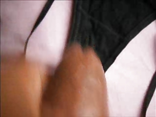 masturbating with wifes panty