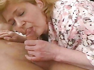 older woman falls on cock and breaks her hip