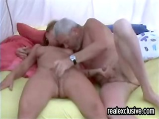 fuck inside a tent cougar german duo