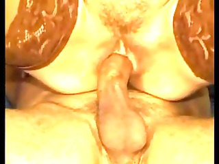 clean haired tarty elderly inside nylons copulates