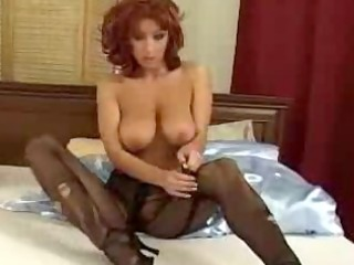 ash robbins tearing up nylons