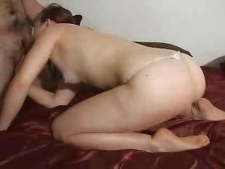 ashley takes a cumshots !