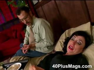 divorced cougar bitch in for triple