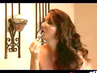 elderly horny woman swallow jizz