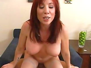 beautiful slutty ginger girl acquires her pussy