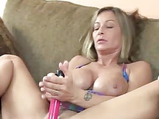 desperate angel leeanna gang-banging her pussy