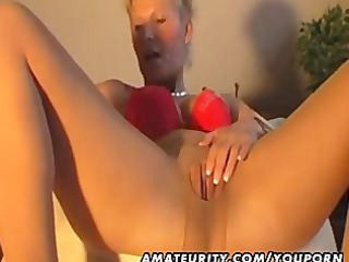 awesome inexperienced woman plays sucks and