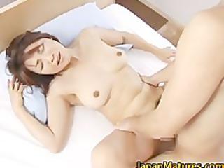 horny japanese grown-up chicks sucking