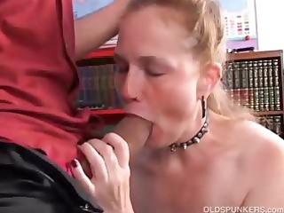 kinky elderly chick spicy likes a uneasy